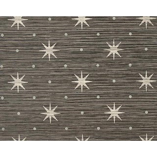 Hinson for the House of Scalamandre Big Trixie Wallpaper in Black For Sale