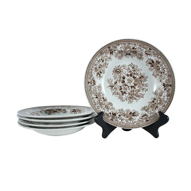 Rorstrand Pheasant Rim Soup Bowls - Set of 5 - Image 1 of 3