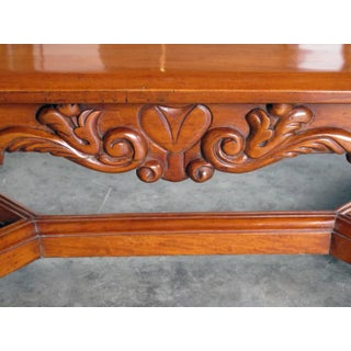 Handsome and Boldly-Carved French Baroque Style Cherrywood Coffee/Cocktail Table Preview