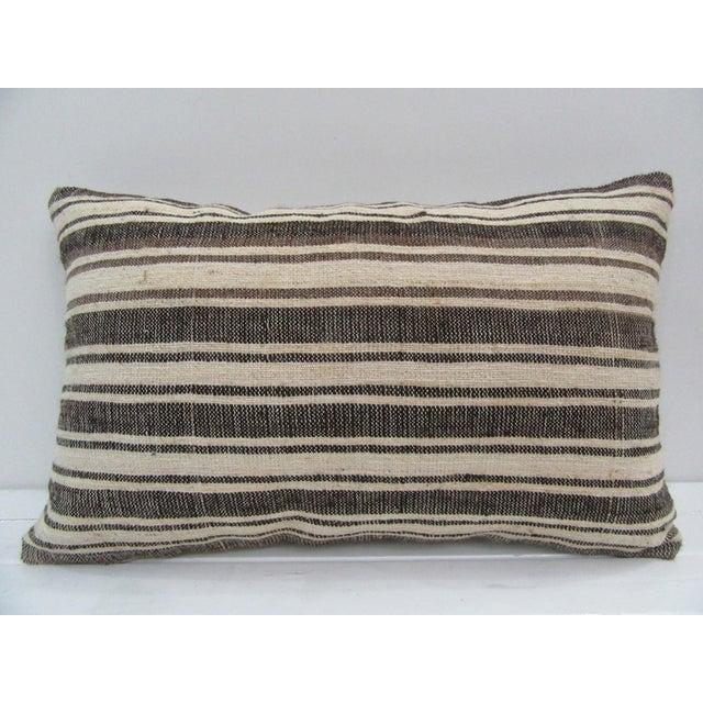 Vintage Handmade Turkish Kilim Pillow Cover For Sale - Image 4 of 4