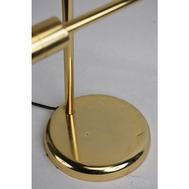 Vintage Brass Plated Table Lamp by Koch and Lowy - Image 7 of 8