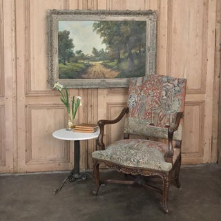 19th Century French Louis XV Armchair With Tapestry Preview