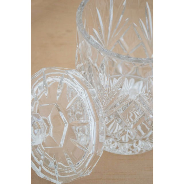Lead Crystal Ice Bucket With Lid - Image 4 of 6