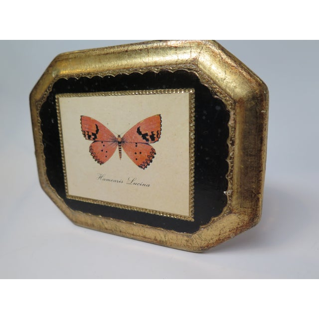 1980s Butterfly Plaque Hanging Decopage Style For Sale - Image 5 of 12