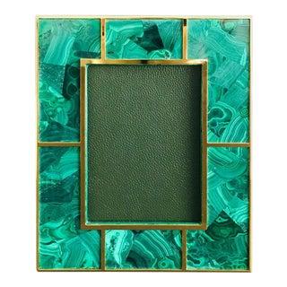 Malachite Photo Frame For Sale