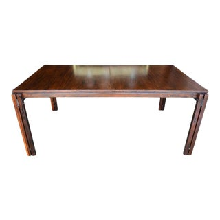 Rosewood Dining Table by Percival Lafer, Circa 1970 For Sale