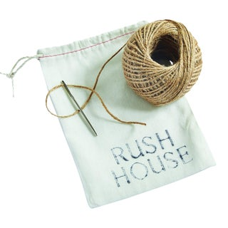 Rush House for Chairish Twine & Needle Sew Kit For Sale