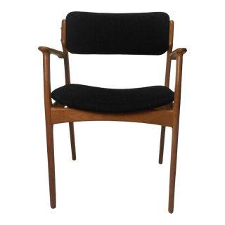 Mid-Century Modern Erik Buch Restored Danish Armchairs i For Sale
