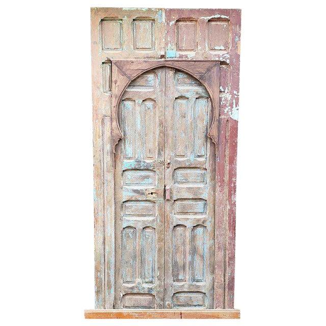 1940s Vintage Old Mok Moroccan Door For Sale