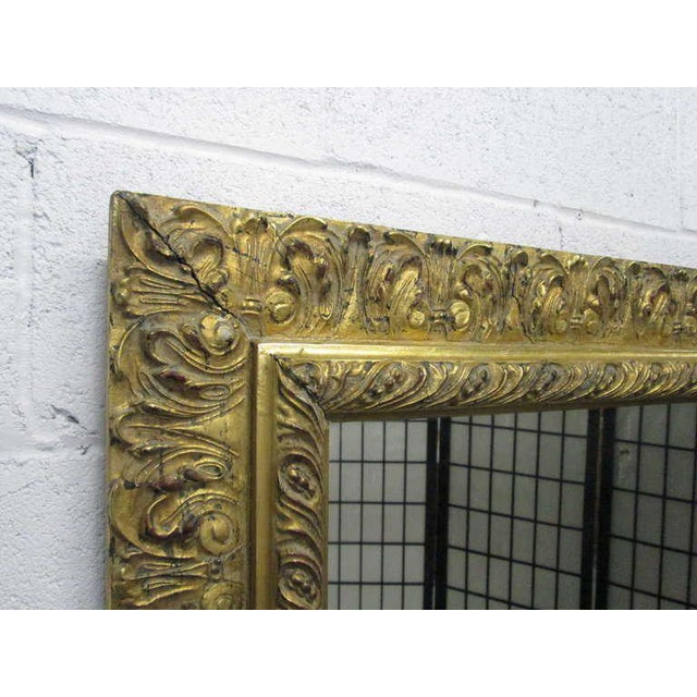 Gold Gilt Rectangular Mirror - Image 2 of 5