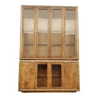 1980s Vintage Display Cabinet For Sale