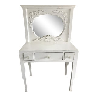 Shabby Chic Style White Vanity For Sale