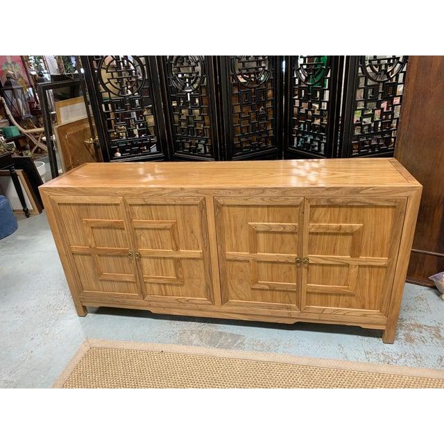 Key Design 4 Door Natural Cabinet For Sale - Image 9 of 9