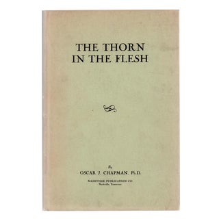 """1945 """"The Thorn in the Flesh"""" Collectible Book For Sale"""