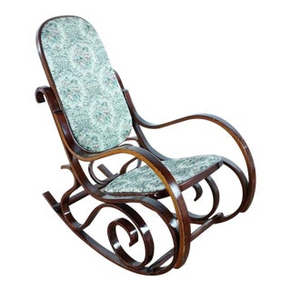 Art Nouveau Bentwood Rocking Chair