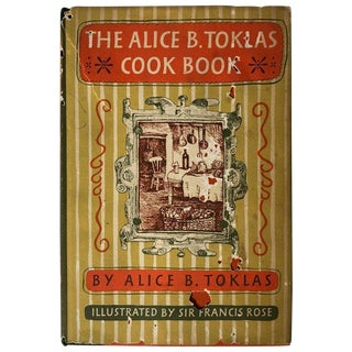1954 Vintage The Alice B. Toklas Cook Book