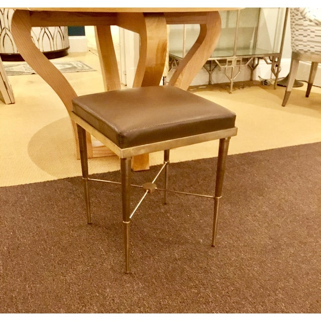 Caracole Haute Seat Stool - A Pair - Image 6 of 6
