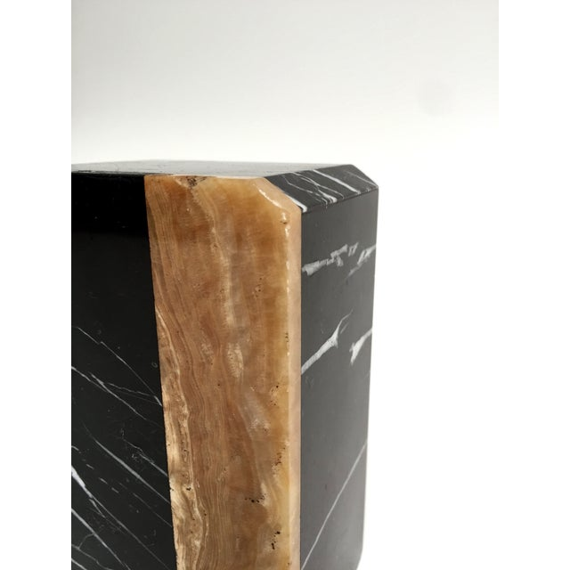 Post-Modern Marble Bookends - A Pair - Image 9 of 9