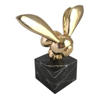 Gaston Lachaise Brass & Marble Bee Sculpture