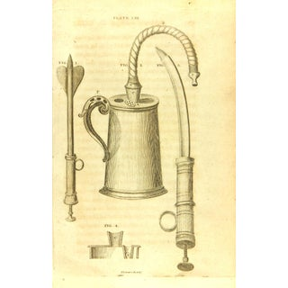 Antique Engraving - Medical Instruments, 1789