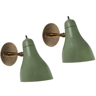 1960s Stilux Articulating Sconces - a Pair For Sale
