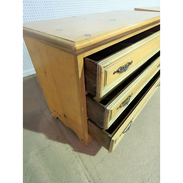 Pair of Pine Commodes For Sale - Image 4 of 7