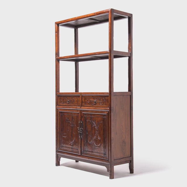 Asian 19th Century Chinese Scholars' Shelf For Sale - Image 3 of 10