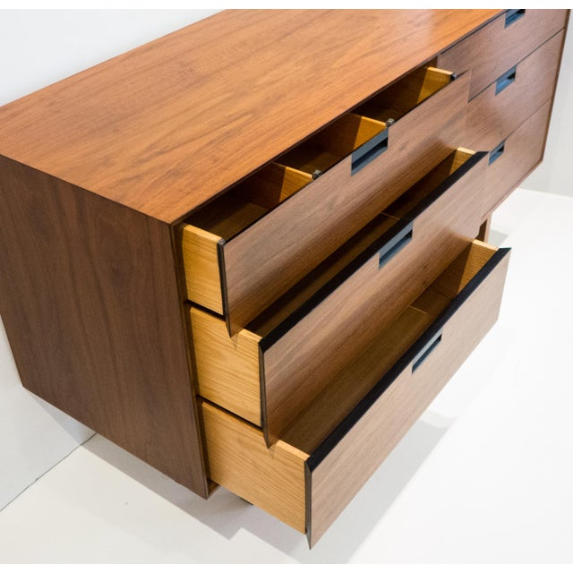 Brown Milo Baughman Double Chest for Arch Gordon For Sale - Image 8 of 11