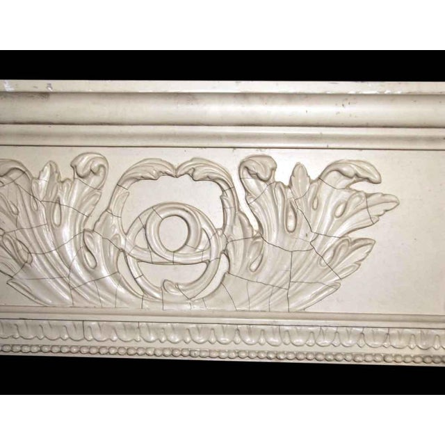 Salvaged White Window Molding Headers - A Pair - Image 4 of 7