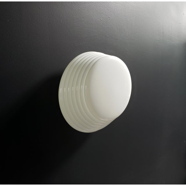 """Italian Modern """"Coban"""" Glass Wall Sconce by Leucos For Sale - Image 10 of 10"""