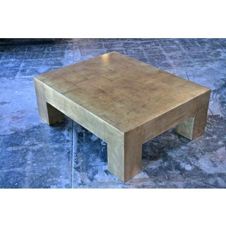 Italian Gold Leaf Coffee Table Preview