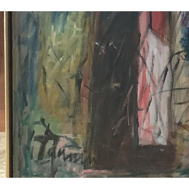 Modern Harriet Tannin Night Intruder Large Painting For Sale - Image 3 of 5