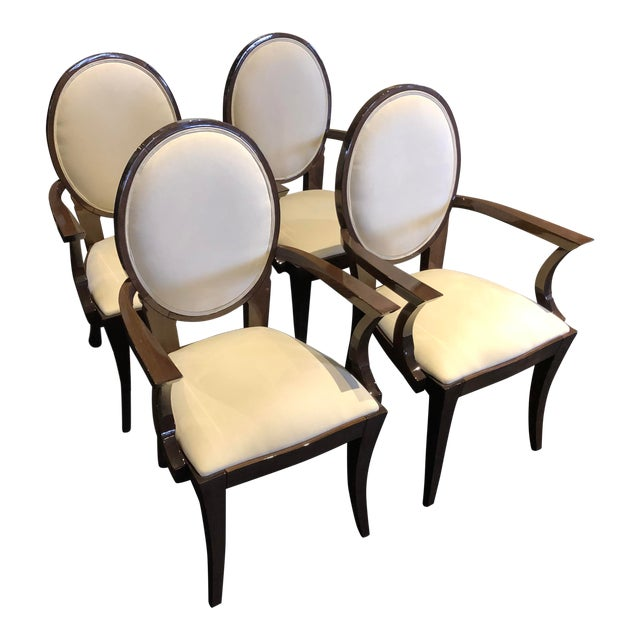 Modern Ultra Suede Ello Italian Chairs - Set of 6 For Sale