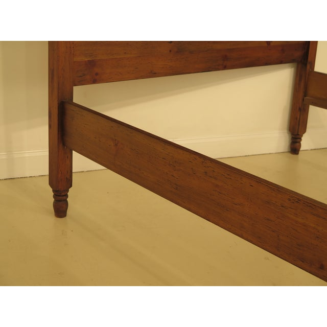 Habersham Plantation Queen Size Pine Country Bed For Sale - Image 4 of 12