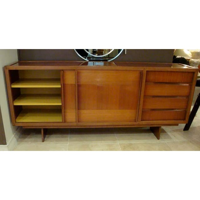 1950s Andre Sornay Private Commission Sideboard, France 1959 For Sale - Image 5 of 10