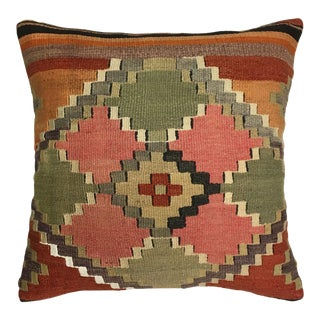 """ReClaimed Mid-Century Kilim Pillow 