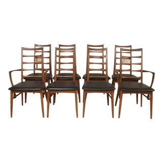 Koefoeds Hornslet Danish Modern Chairs - Set of 8 For Sale