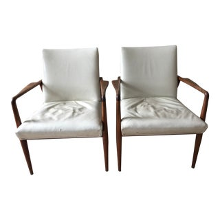 Stow & Davis Side Chairs - A Pair For Sale