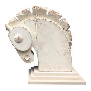Primavera ? Horse Head Sculpture, Circa 1920-1930 For Sale