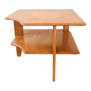 Heywood-Wakefield Mid-Century Corner End Table For Sale