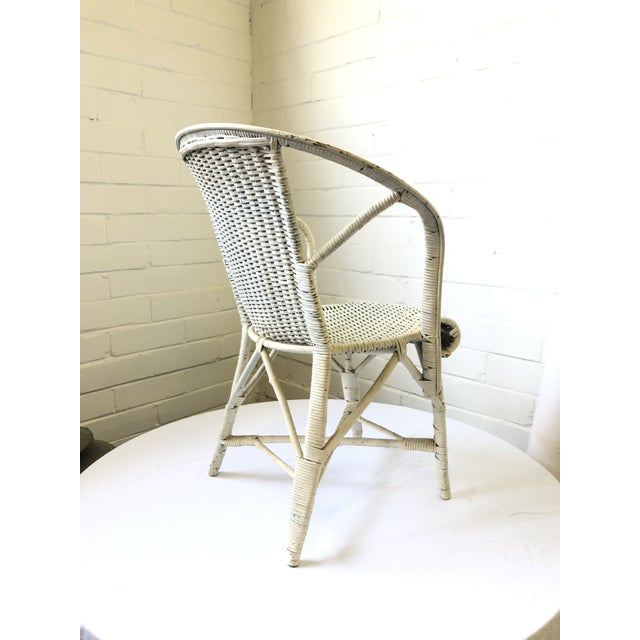 Early 20th Century Wicker Child's Chair For Sale - Image 4 of 13