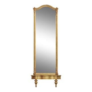 Antique 19th Century Victorian Gilt Pier Mirror & Console (A) For Sale