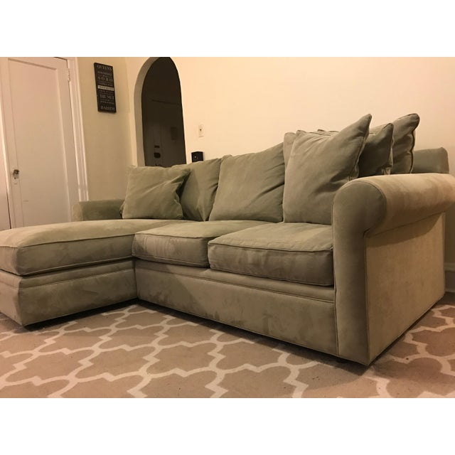 Sectional Sofas At Macys: Macy's Doss Microfiber Sectional With Chaise