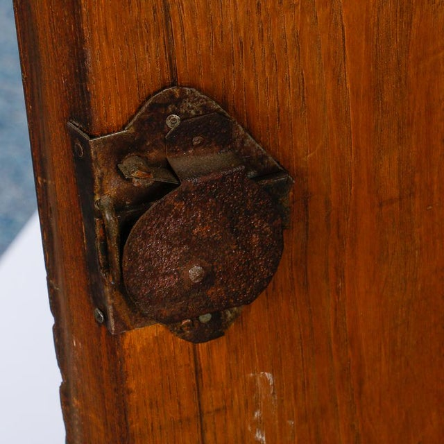 Brown 19th Century Burl Walnut Cabinet With Rounded Front and Original Keys For Sale - Image 8 of 10