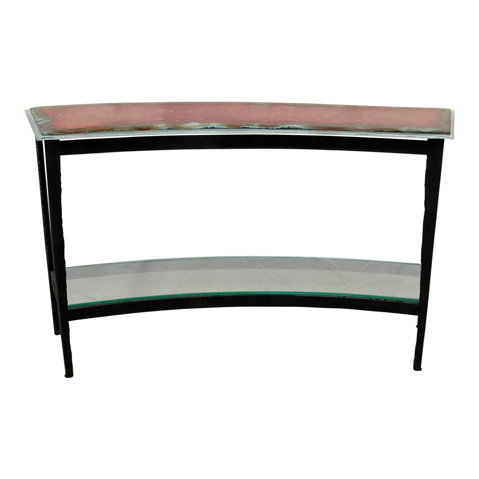 Mid-Century Modern Console Table
