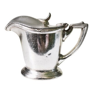 1929 Silver Plated Creamer From Pullman Company For Sale