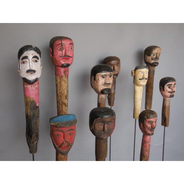 Folk Art Sculptures For Sale - Image 4 of 8