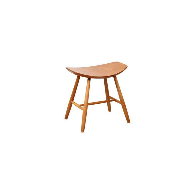 1960s Set of 4 Stools by Ejvind Johansson for FDB Mobler For Sale - Image 5 of 11