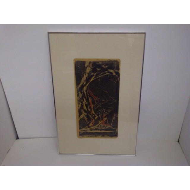 """Flehion"" Vintage Print by B. K. Johnston - Image 2 of 6"