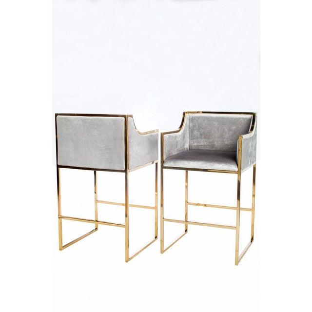 Kitchen Bar Stools For Sale In Ireland: Erin Gold Bar Chair
